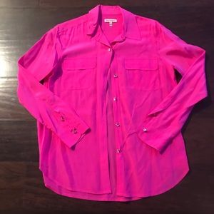 Juicy Couture Rhinestone Button Shirt